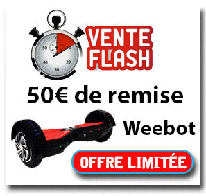 Promotion Weebot